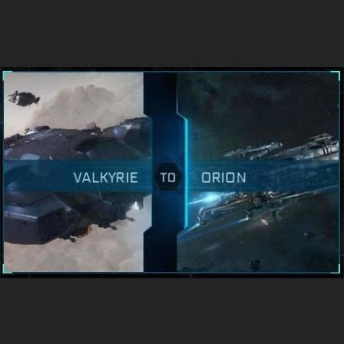 Valkyrie to Orion | Upgrade | Might | Space Foundry Marketplace.