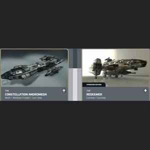 UPGRADE - CONSTELLATION ANDROMEDA TO REDEEMER | Upgrade | JPEGS STORE | Space Foundry Marketplace.