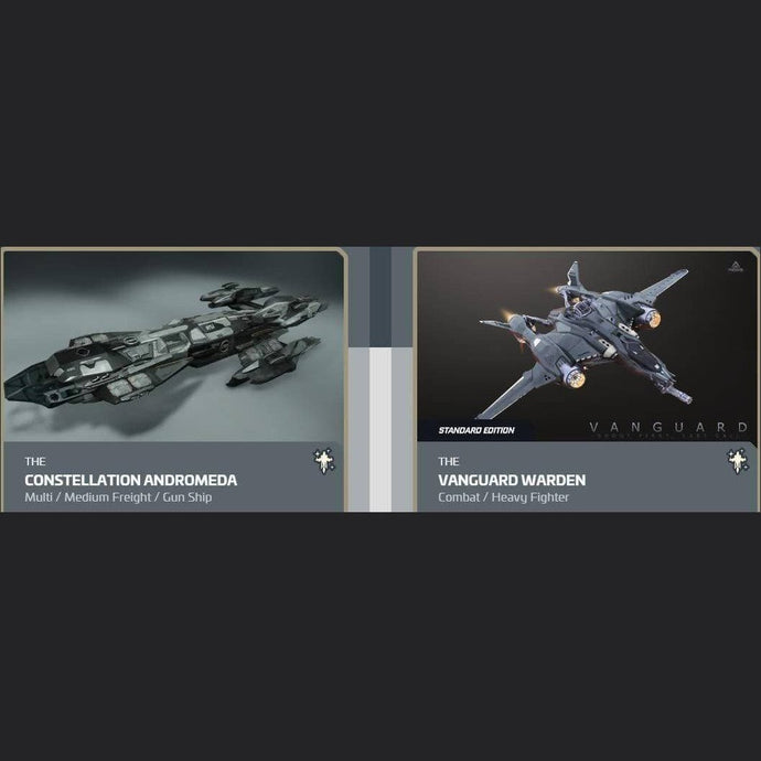 UPGRADE - CONSTELLATION ANDROMEDA TO VANGUARD WARDEN | Upgrade | JPEGS STORE | Space Foundry Marketplace.