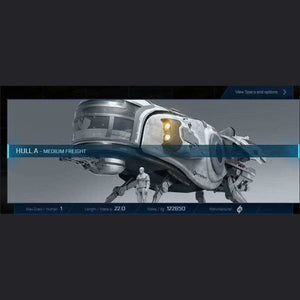 HULL A - 120m - CCUed | GANJALEZZ JPEGs STORE | Space Foundry Marketplace