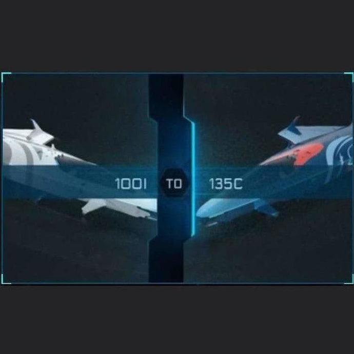 100i to 135c | Might | Space Foundry Marketplace