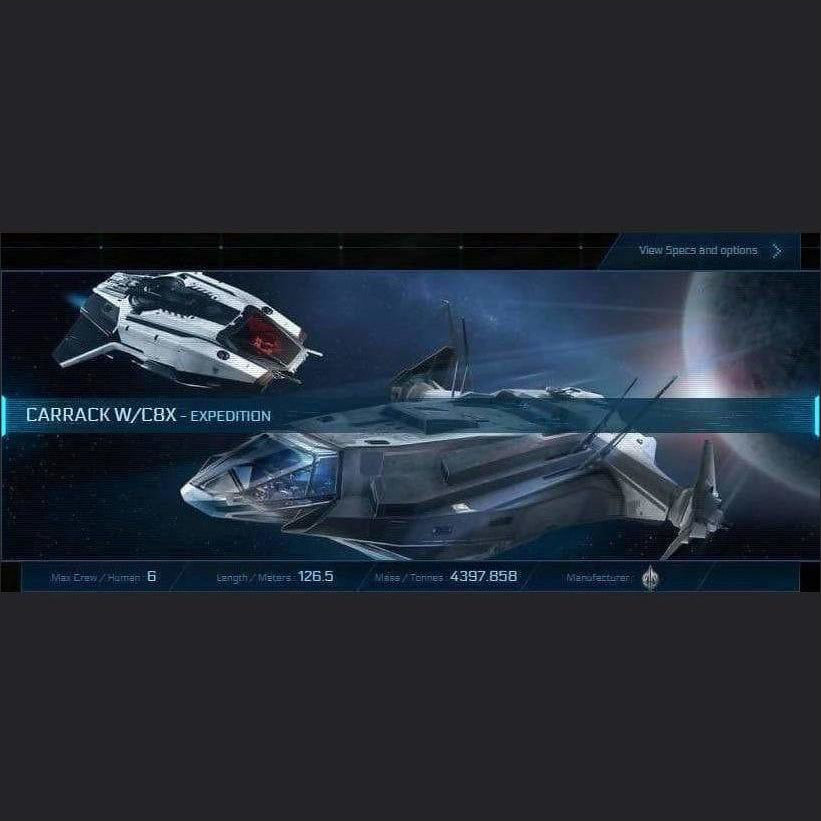 CARRACK W/C8X - LTI - CCUed | GANJALEZZ JPEGs STORE | Space Foundry Marketplace