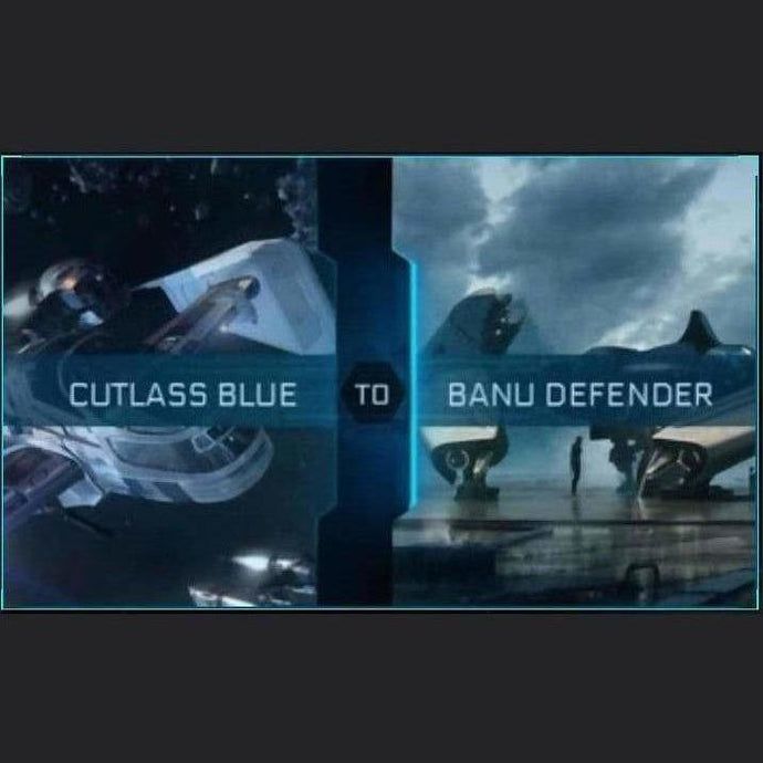 Cutlass Blue to Defender | Upgrade | Might | Space Foundry Marketplace.