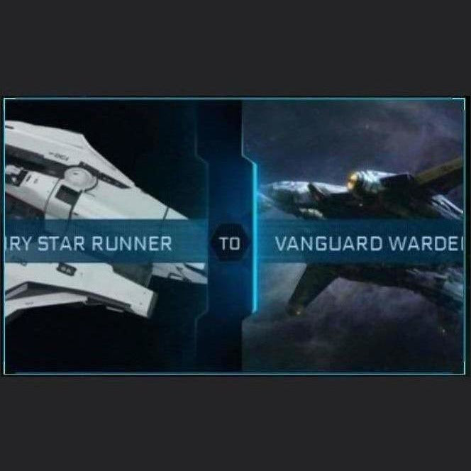 Mercury Star Runner to Vanguard Warden | Upgrade | Might | Space Foundry Marketplace.