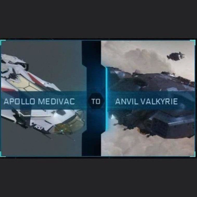 Apollo Medivac to Valkyie | Upgrade | Might | Space Foundry Marketplace.