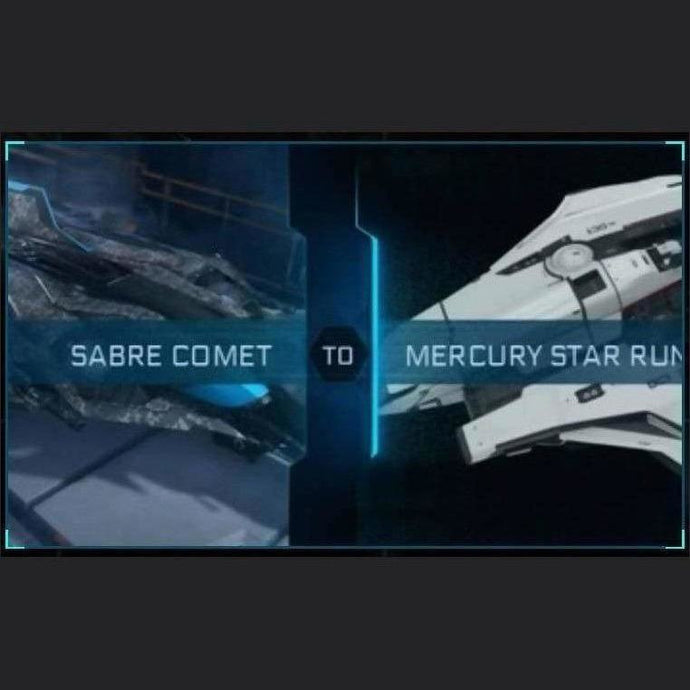 Sabre Comet to Mercury Star Runner | Upgrade | Might | Space Foundry Marketplace.