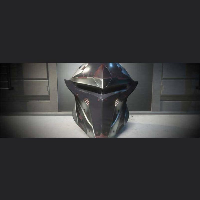 SAVIOR COLLECTION ''SINGULARITY'' PALADIN HELMET | Add-On | Eris Space Store | Space Foundry Marketplace.