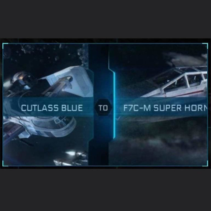 Cutlass Blue to F7C-M SUPER HORNET | Might | Space Foundry Marketplace