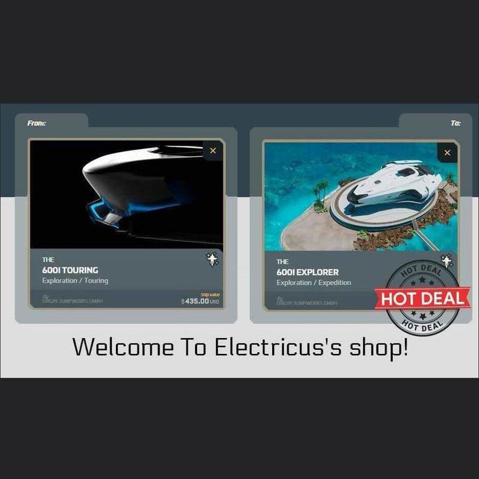 600i Touring to 600i Explorer Upgrade | Upgrade | Official Store by Electricus | Space Foundry Marketplace.