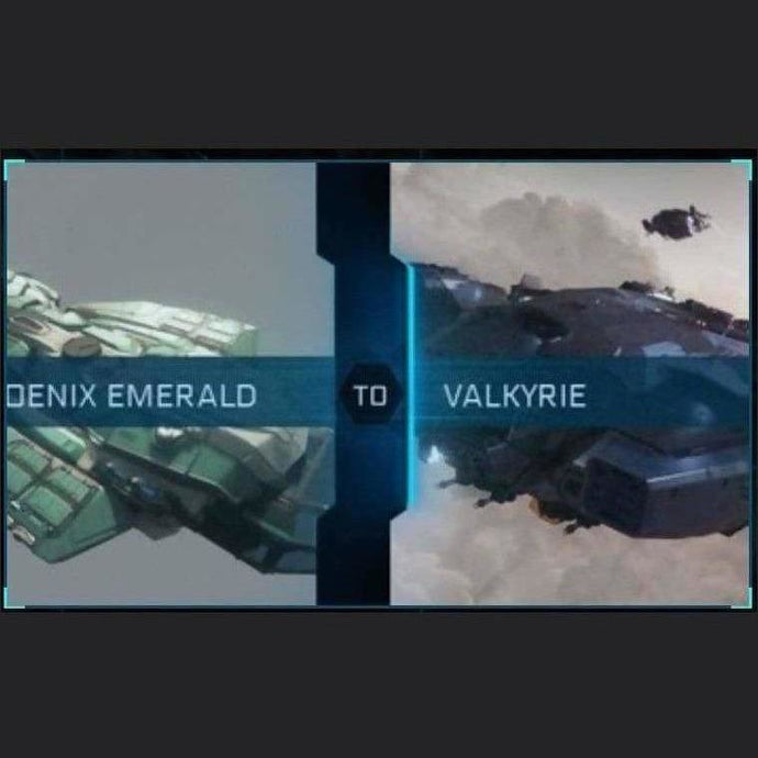 CONSTELLATION PHOENIX EMERALD TO VALKYRIE | Upgrade | Might | Space Foundry Marketplace.