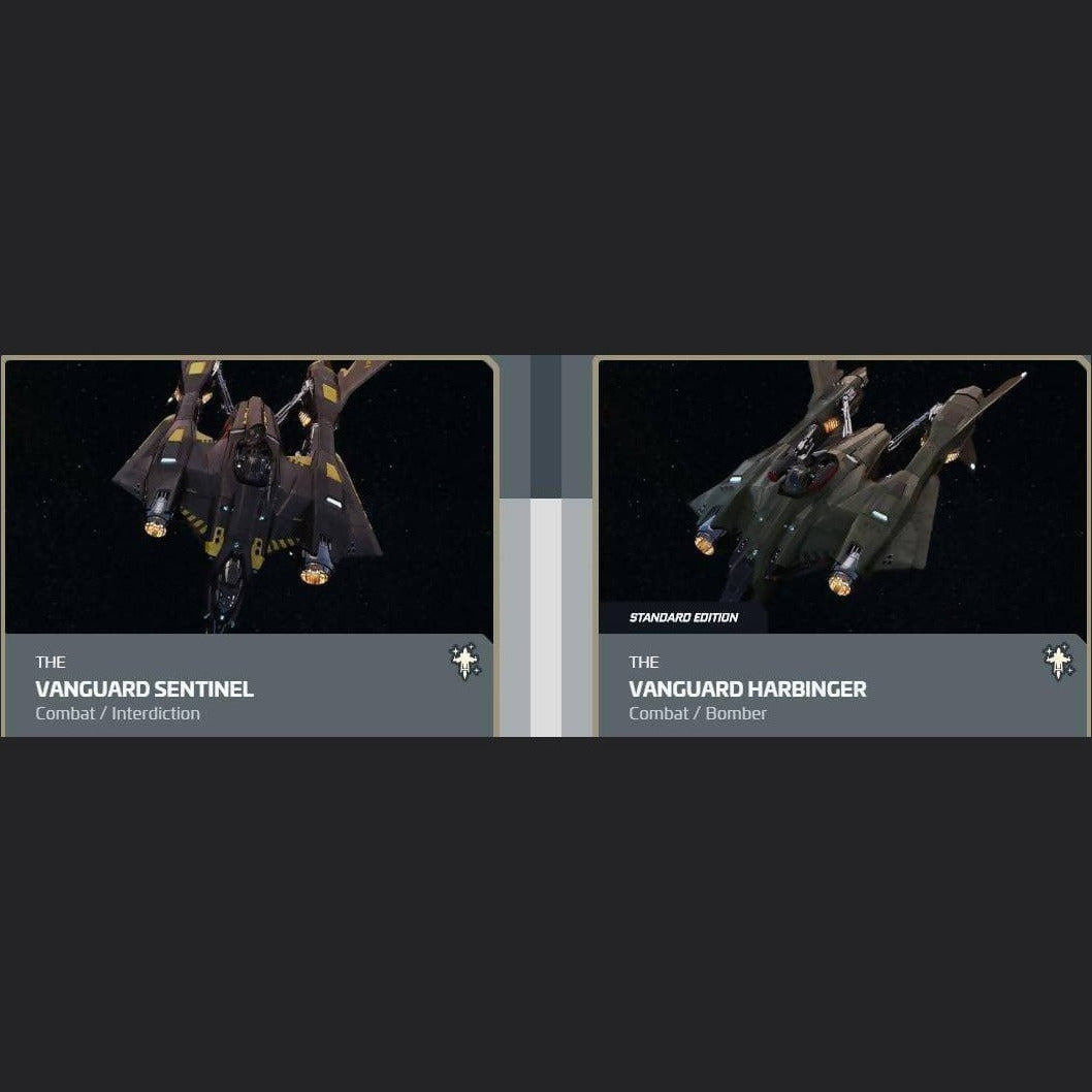 UPGRADE - VANGUARD SENTINEL TO VANGUARD HARBINGER | Upgrade | JPEGS STORE | Space Foundry Marketplace.