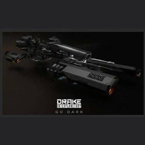 Dragonfly Black | Ground Vehicle | Might | Space Foundry Marketplace.