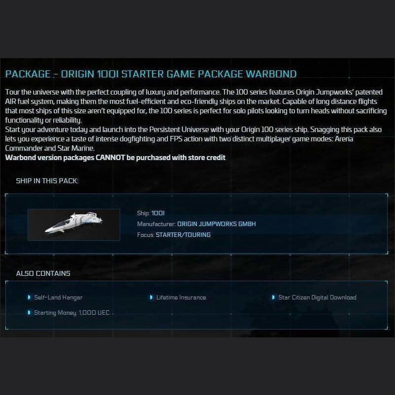 Starter LTI Package 100i | Game Package | Might | Space Foundry Marketplace.