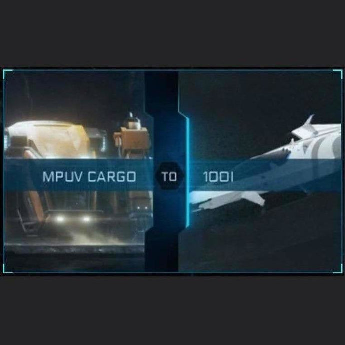 MPVU Cargo to 100i | Upgrade | Might | Space Foundry Marketplace.