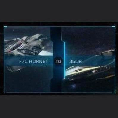 F7C Hornet to 350r | Might | Space Foundry Marketplace
