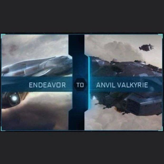 Endeavor to Valkyrie | Upgrade | Might | Space Foundry Marketplace.