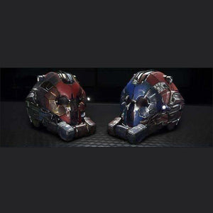 OVERLORD HELMETS 'DOUBLE TROUBLE' PACK | GANJALEZZ JPEGs STORE | Space Foundry Marketplace