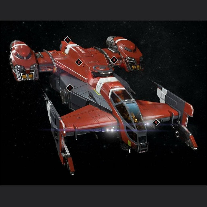 Cutlass Red LTI | Standalone CCU'd Ship | Jpeg_Warehouse | Space Foundry Marketplace.