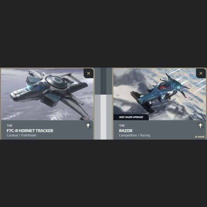 UPGRADE - F7C-R HORNET TRACKER TO RAZOR | GANJALEZZ JPEGs STORE | Space Foundry Marketplace