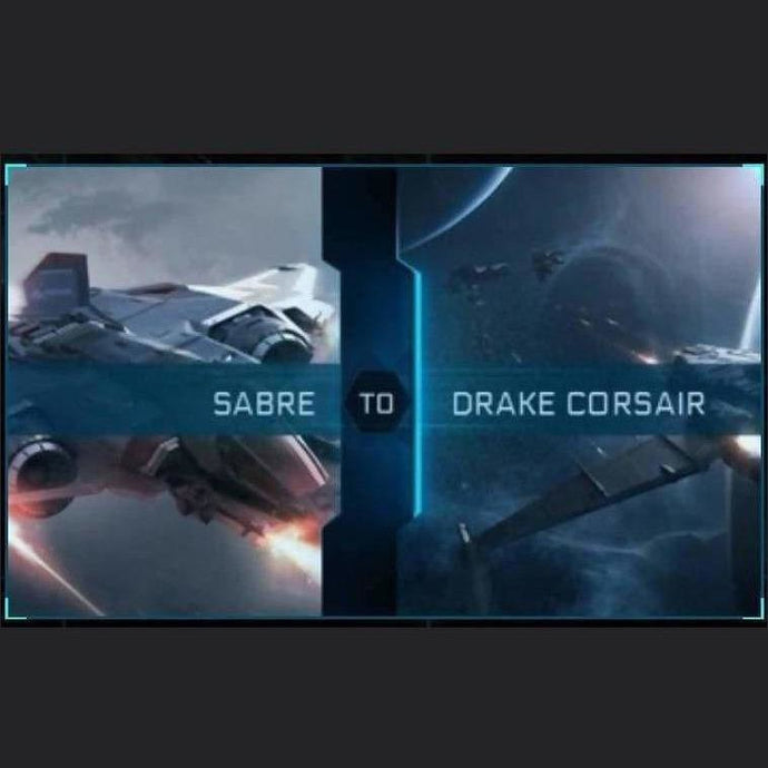 Sabre to Corsair | Upgrade | Might | Space Foundry Marketplace.