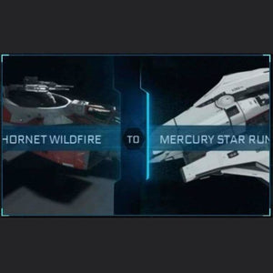 F7C HORNET WILDFIRE TO MERCURY STAR RUNNER | Upgrade | Might | Space Foundry Marketplace.