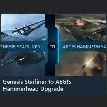 Genesis Starliner to AEGIS Hammerhead Upgrade | Upgrade | Jpeg_Warehouse | Space Foundry Marketplace.