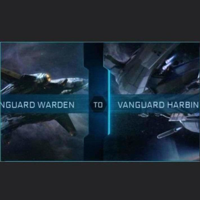 Vanguard Warden to Vanguard Harbinger | Upgrade | Might | Space Foundry Marketplace.