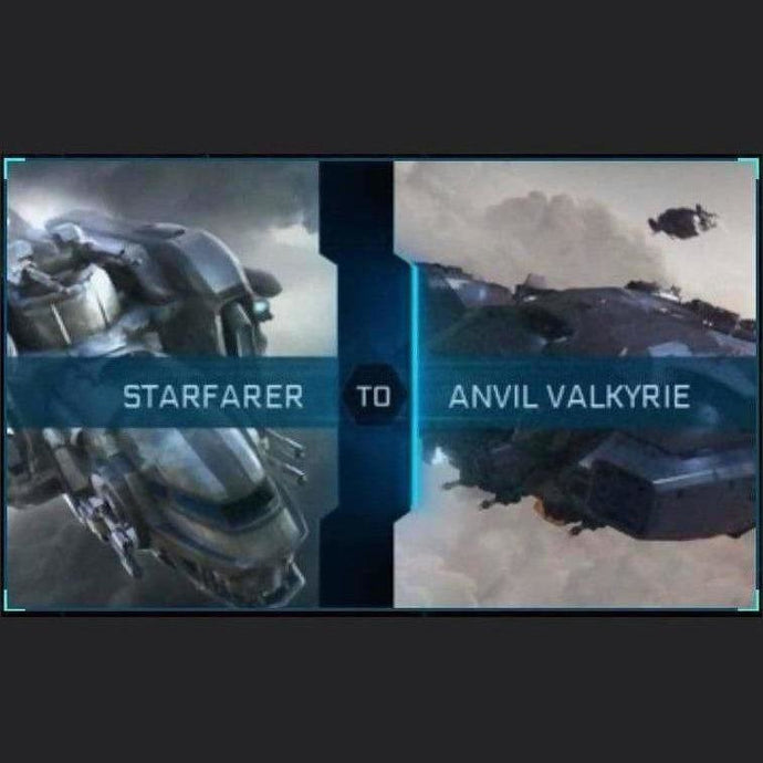 Starfarer to Valkyrie | Upgrade | Might | Space Foundry Marketplace.