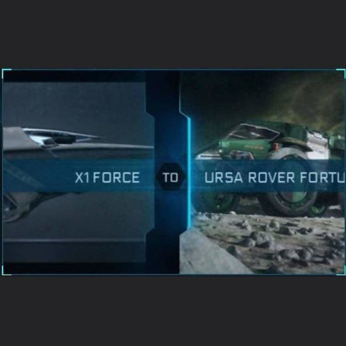 X1 FORCE TO URSA ROVER FORTUNA | Might | Space Foundry Marketplace