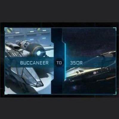 Buccaneer to 350R | Might | Space Foundry Marketplace