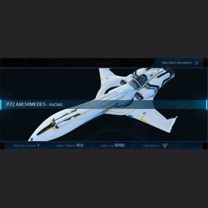 P72 ARCHIMEDES - 120m - CCUed | GANJALEZZ JPEGs STORE | Space Foundry Marketplace