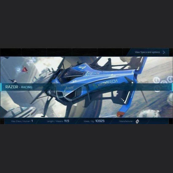 RAZOR - LTI - CCUed | GANJALEZZ JPEGs STORE | Space Foundry Marketplace