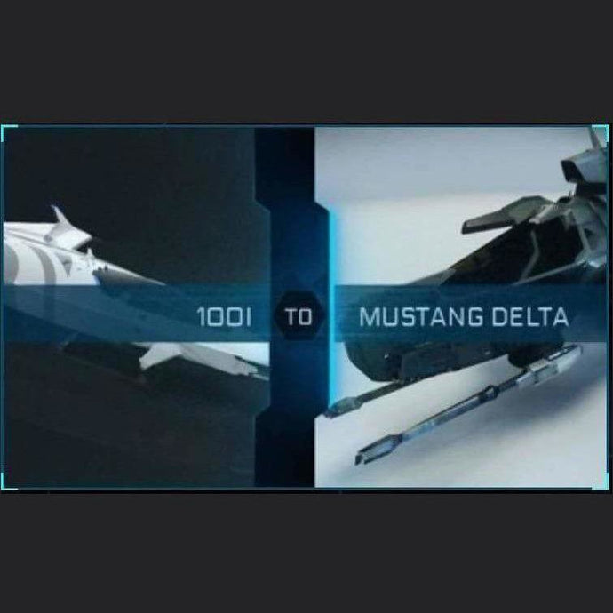 100i to Mustang Delta | Upgrade | Might | Space Foundry Marketplace.