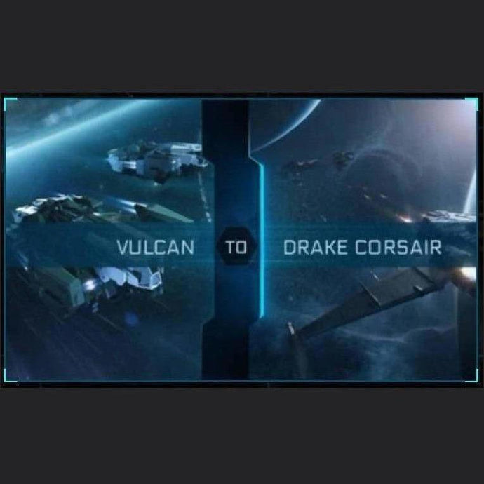 Vulcan to Corsair | Upgrade | Might | Space Foundry Marketplace.