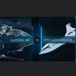 UPGRADE - AURORA MR TO P72 ARCHIMEDES | GANJALEZZ JPEGs STORE | Space Foundry Marketplace
