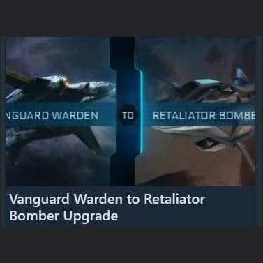 Vanguard Warden to Retaliator Bomber Upgrade