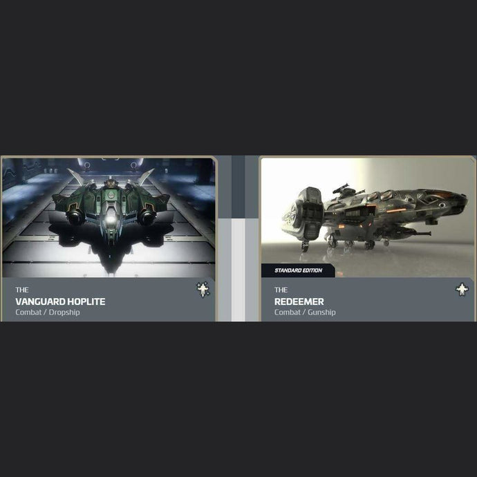UPGRADE - VANGUARD HOPLITE TO REDEEMER | Upgrade | JPEGS STORE | Space Foundry Marketplace.