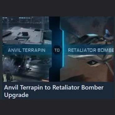 Terrapin to Retaliator Bomber Upgrade | Upgrade | Jpeg_Warehouse | Space Foundry Marketplace.