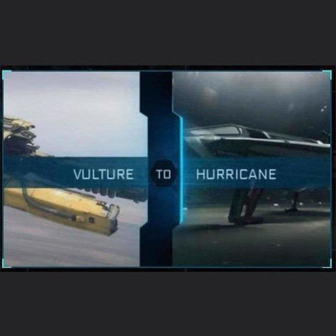 Vulture to Hurricane | Upgrade | Might | Space Foundry Marketplace.