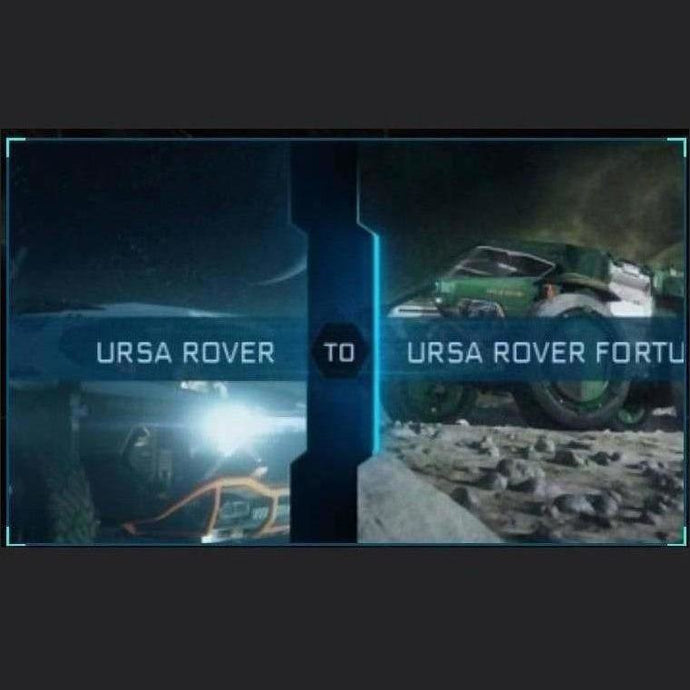 URSA ROVER TO URSA ROVER FORTUNA | Upgrade | Might | Space Foundry Marketplace.