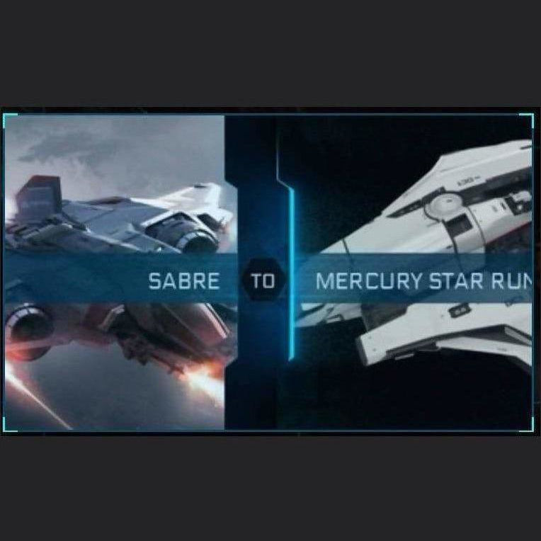 Sabre to Mercury Star Runner | Upgrade | Might | Space Foundry Marketplace.