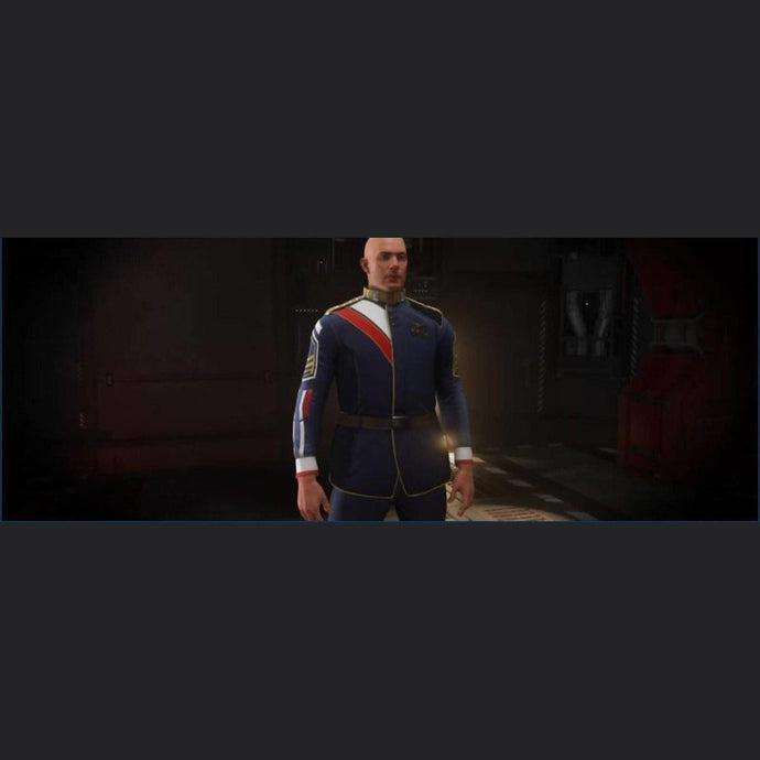 SECOND TEVARIN WAR SERVICE UNIFORM | Might | Space Foundry Marketplace.