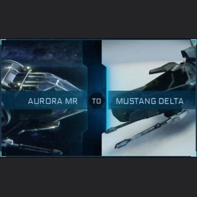 Aurora MR to Mustang Delta | Upgrade | Might | Space Foundry Marketplace.