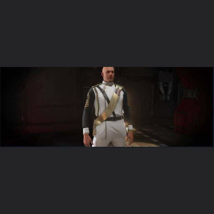 SECOND TEVARIN WAR WHITE DRESS UNIFORM | Add-On | JPEGS STORE | Space Foundry Marketplace.