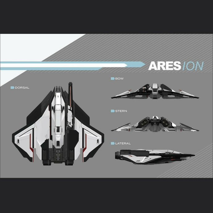 Ares Ion (Standalone Ship, lifetime insurance) | Standalone CCU'd Ship | Conrad Beckman | Space Foundry Marketplace.