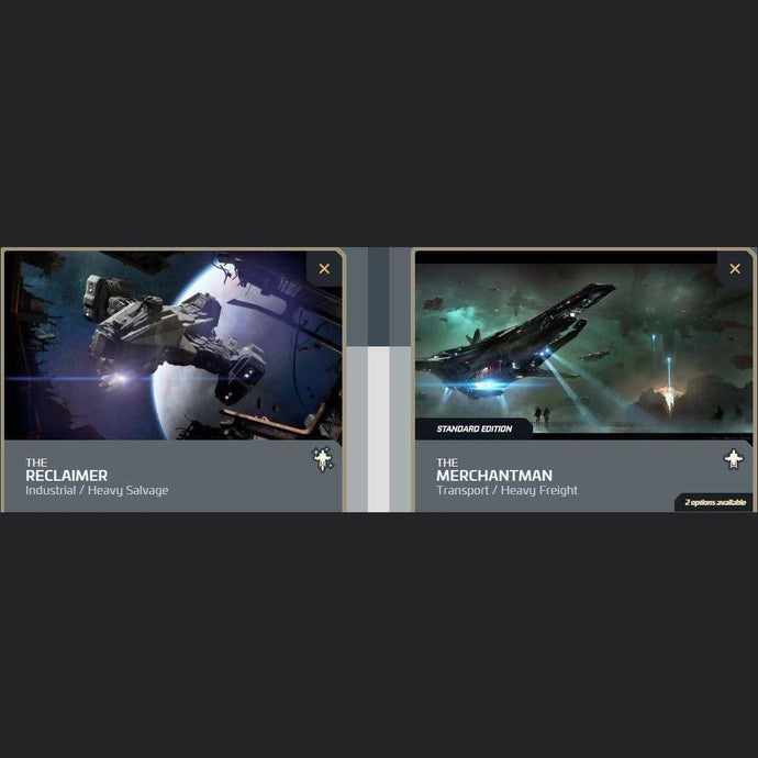 UPGRADE - RECLAIMER TO MERCHANTMAN | Upgrade | JPEGS STORE | Space Foundry Marketplace.