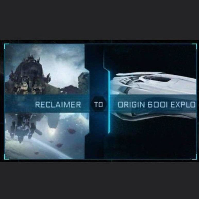 Reclaimer to 600i Explorer | Upgrade | Might | Space Foundry Marketplace.