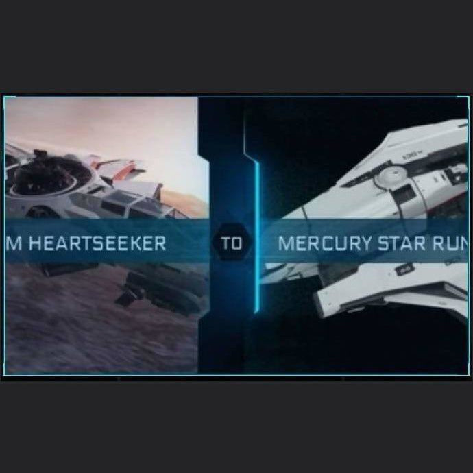 Hornet F7C-M Heartseeker to Mercury Star Runner | Upgrade | Might | Space Foundry Marketplace.