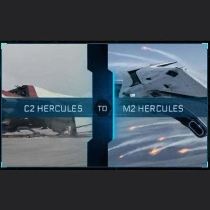 C2 Hercules to M2 Hercules | Upgrade | Might | Space Foundry Marketplace.