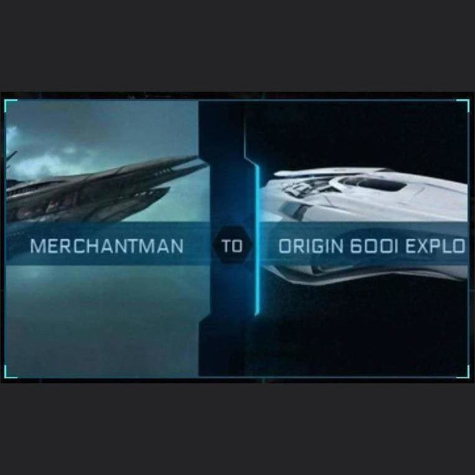Merchantman to 600i Explorer | Might | Space Foundry Marketplace